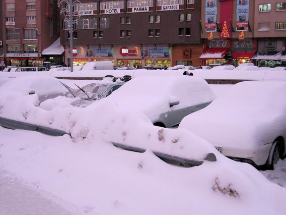 neige a andorre la vieille